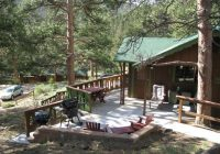 machins cottages in the pines inside rocky mountain national park Estes Park Colorado Cabins