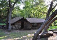 robbers cave state park of oklahoma explore the ozarks Robbers Cave State Park Cabins